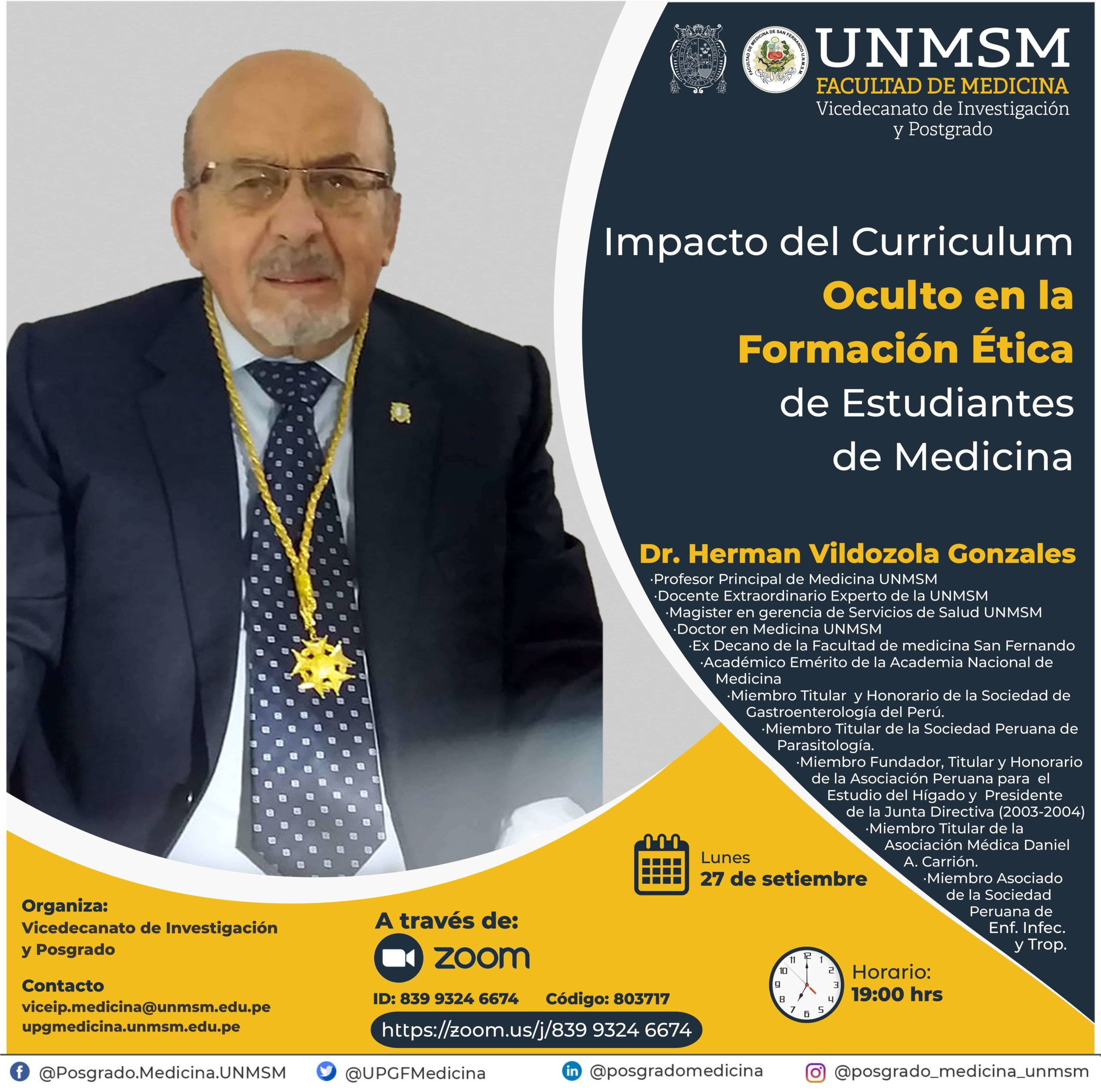 Impacto del Curriculum Oculto en la Formación Ética de Estudiantes de Medicina